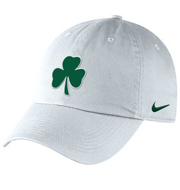 Nike Nike White Cotton Hat with Shamrock