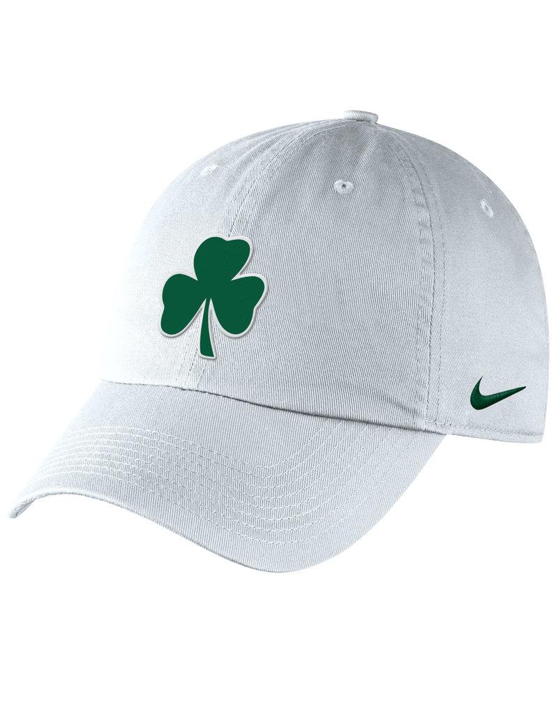 Nike Nike White Cotton Hat with Shamrock