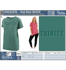 pressbox Pressbox  Green Washed Tee