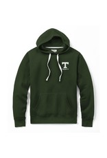 League League Stadium Hoodie Green Left Chest Embroidery