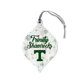 Legacy Athletics Legacy Wood Christmas Ornament Snowflake Teardrop