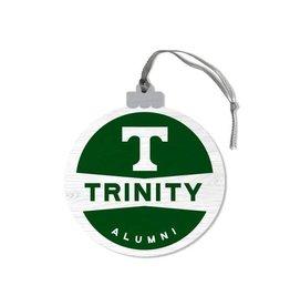 League Legacy Wood Christmas Ornament T Trinity Alumni