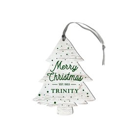 League Legacy Wood Christmas Ornament Merry Christmas