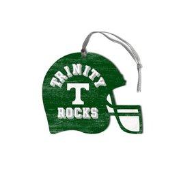 Legacy Athletics Legacy Wood Christmas Ornament Football Helmet