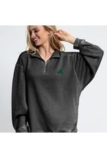 University Girls Sale Chicka -d Worn Vintage 1/4 Zip with Pockets