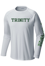 Columbia New Columbia Tackle White Dri-Fit  Long Sleeve