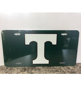 Blue 84 License Plate Power T Green