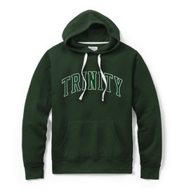 League League Stadium Green Hoodie Sewn Letter