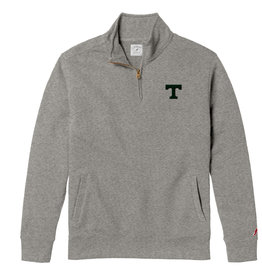 League League Stadium 1/4 Zip Grey Soft