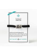 My Saint My Hero Shield of Faith Bracelet