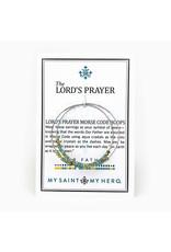 My Saint My Hero Lord's Prayer Earrings