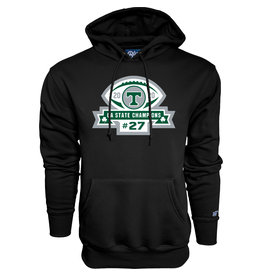 Blue 84 2020 State Football Champions Black Hoodie