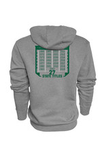 Blue 84 2020 State Football Champions Graphite Hoodie