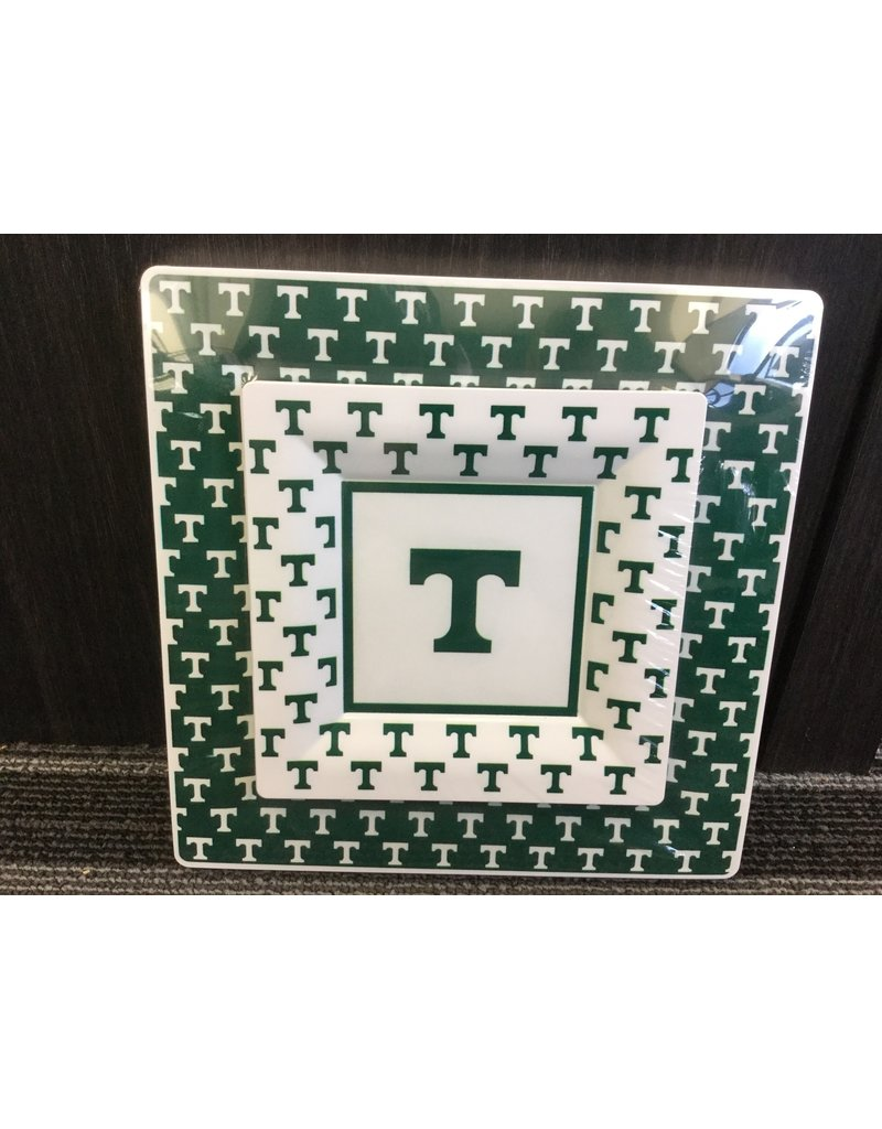 Trinity 6.5 inch Square Plate (8) 9.5 inch plates(8)
