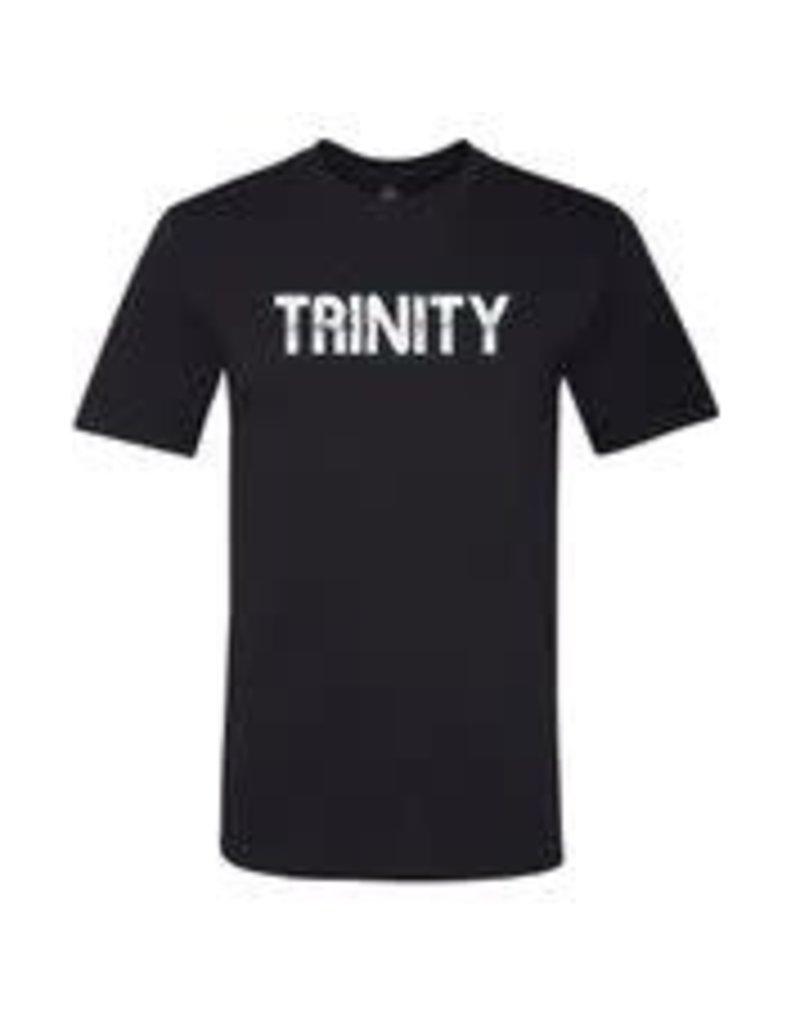 MV Sports Black Trinity Ringspun Cotton Tee