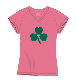 Nike Pink Toddler Shamrock T- Tee
