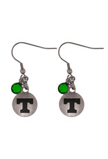LXG Power T earring with Bead