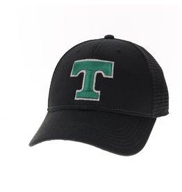 Legacy Athletics Lo Pro Trucker Hat Snap back Mesh Black