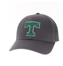 Legacy Athletics Lo Pro Trucker Hat Snap back Mesh Dark Grey