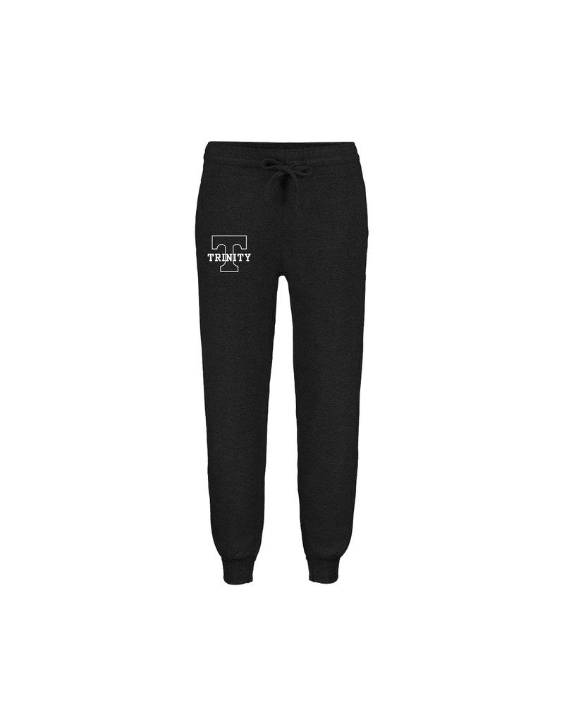 MV Sports Black Trinity Sweatpants 75/15 cotton/Poly
