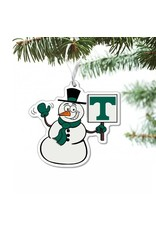 CDI Ornament Trinity Snowman with Sign