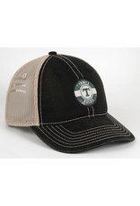 AHEAD Ahead Tea Stained Twill Unstructured Mesh Snap Back Hat