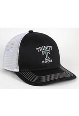 AHEAD Ahead Chino Black Twill Strutured Mesh Snap Back Hat