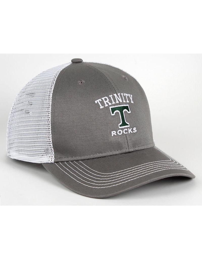 AHEAD Ahead Chino Grey Twill Strutured Mesh Snap Back Hat