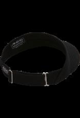 AHEAD Ahead Twill Classic High Rise Visor Strutured Adjustable Slider Black