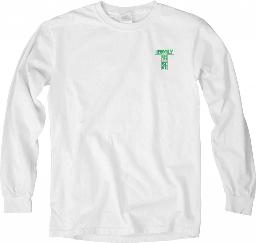 Theme Shirt Long Sleeve- size medium only