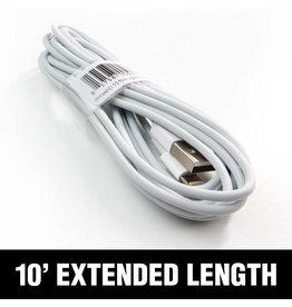 smashdiscount White Lighting Cable 10 ft