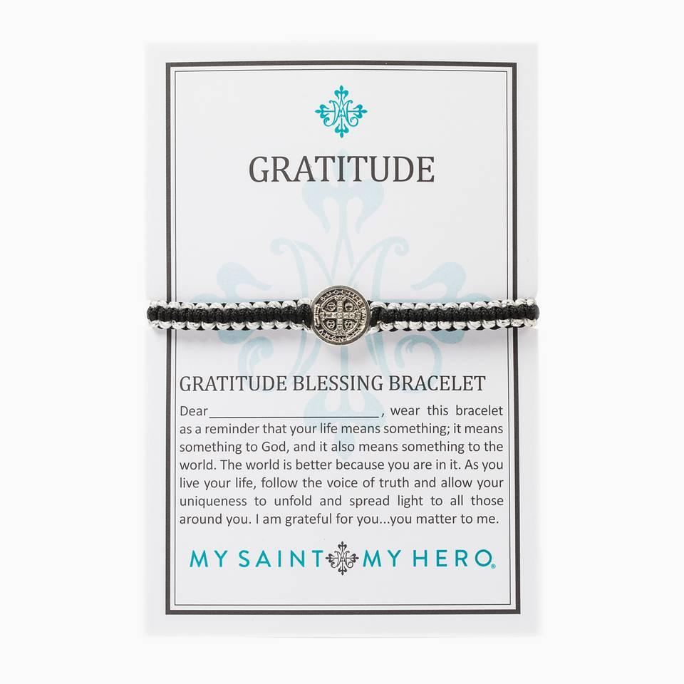 My Saint My Hero Gratitude Bracelet