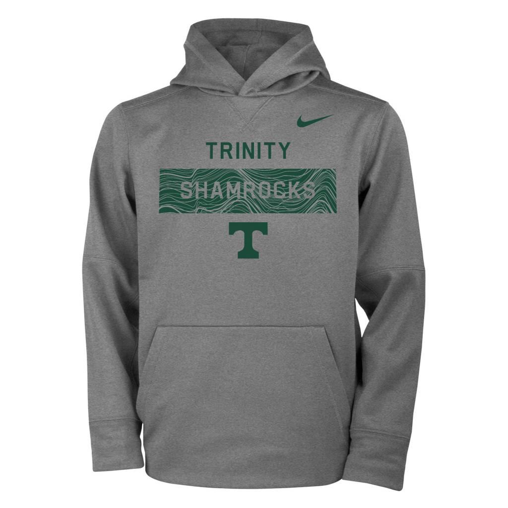 Nike Nike Sideline Dark Heather Hoodie Dri-Fit Tee
