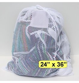 Large White sports mesh bag