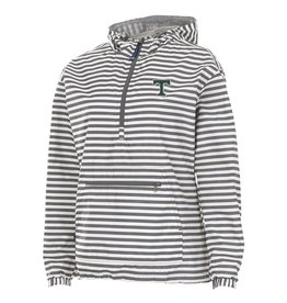 Charles River Women's Chatham Grey/ White Print
