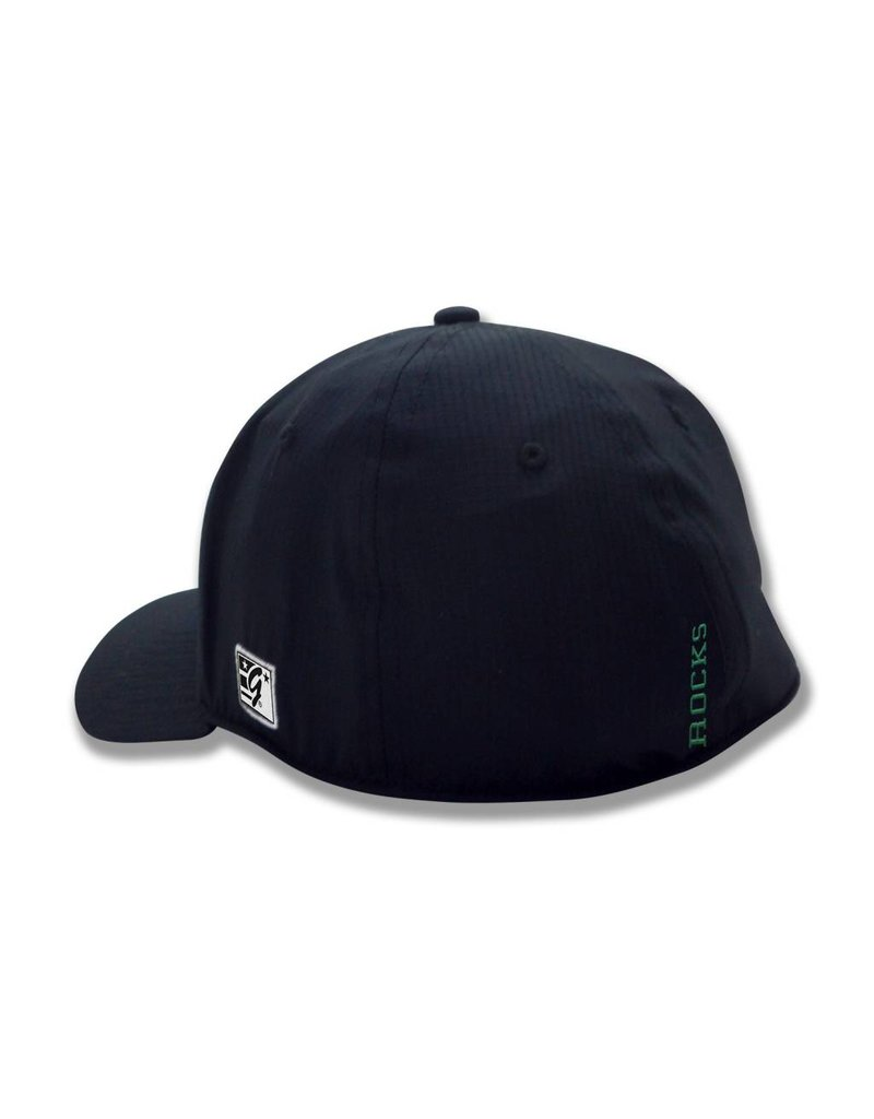 The Game Black A-Flex Hat Power T
