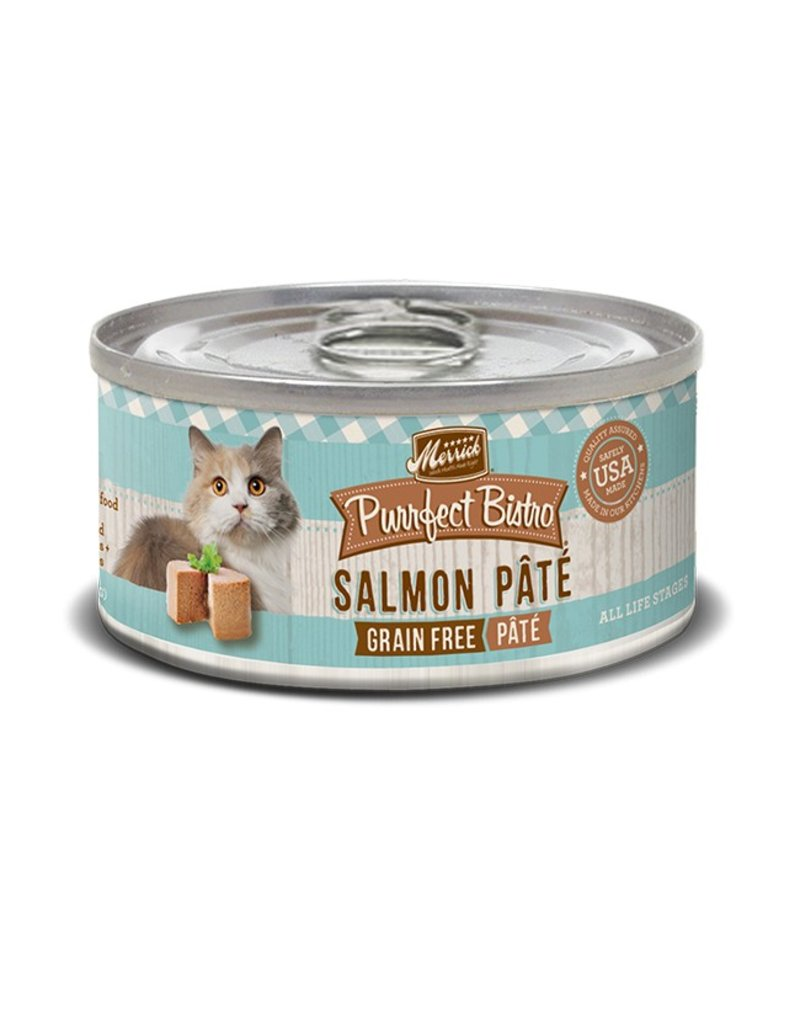 Merrick Canned Cat Salmon Pate 3 OZ