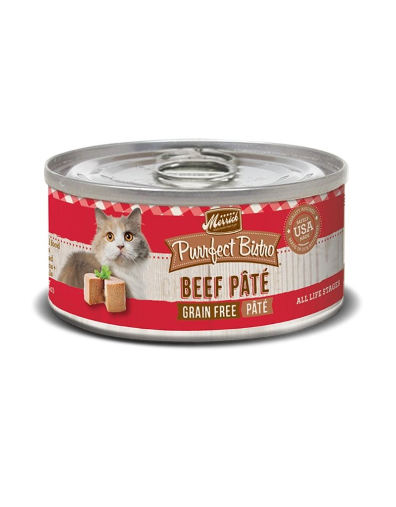 Merrick Canned Cat Beef Pate 3 OZ