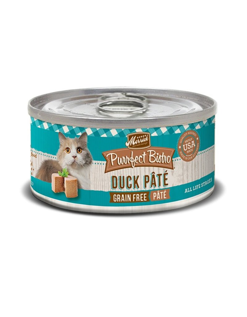 Merrick Canned Cat Duck Pate 5.5 OZ