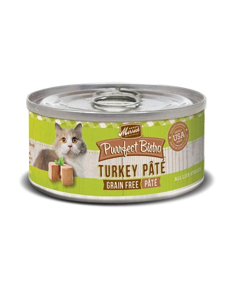 Merrick Canned Cat Turkey Pate 5.5 OZ
