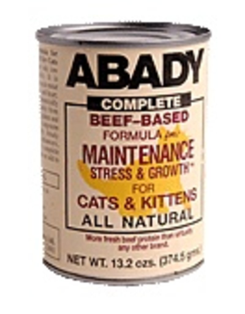 Abady Canned Cat Beef Maintenance Stress & Growth 5.5 oz