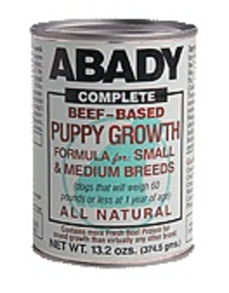 Abady Dog Complete Beef Based Small & Medium Puppy Growth 12.6 OZ