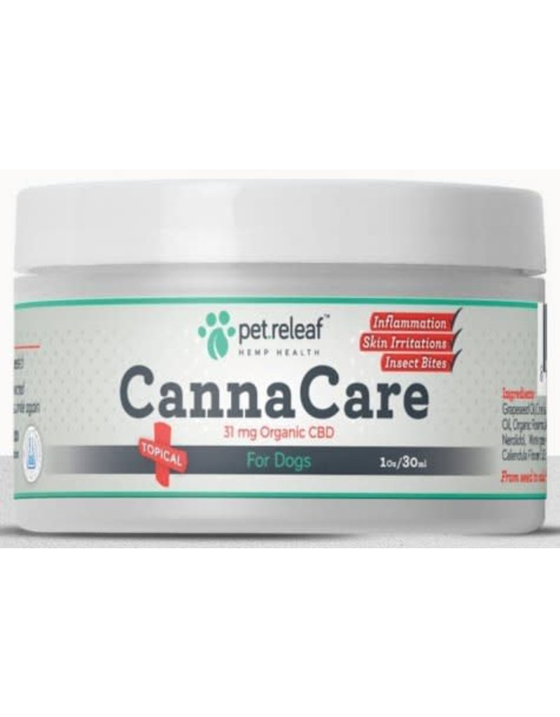 Pet Releaf Pet Releaf Canna Care CBD Topical 1 oz