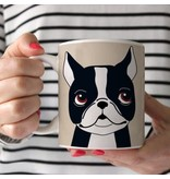 Sophisticated Pup Sophisticated Pup Coffee Mug 15 Oz.