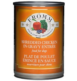 Fromm Family Pet Food Fromm Four Star Canned Dog Shredded Chicken 12 OZ