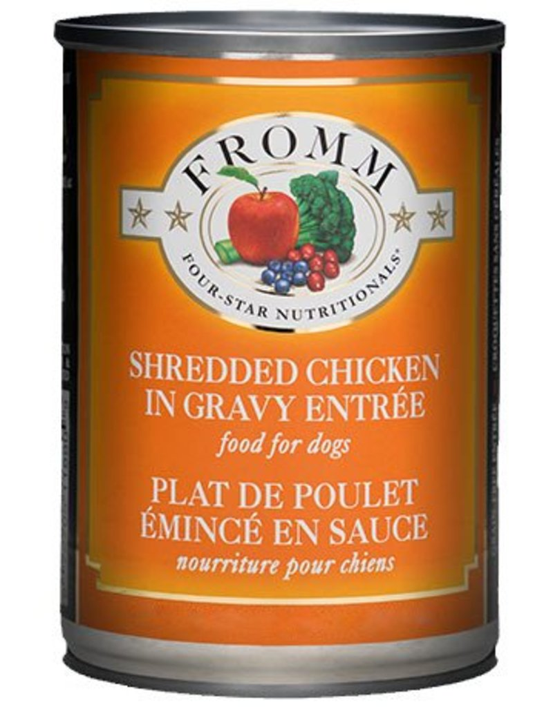 Fromm Four Star Canned Dog Shredded Chicken 12 OZ