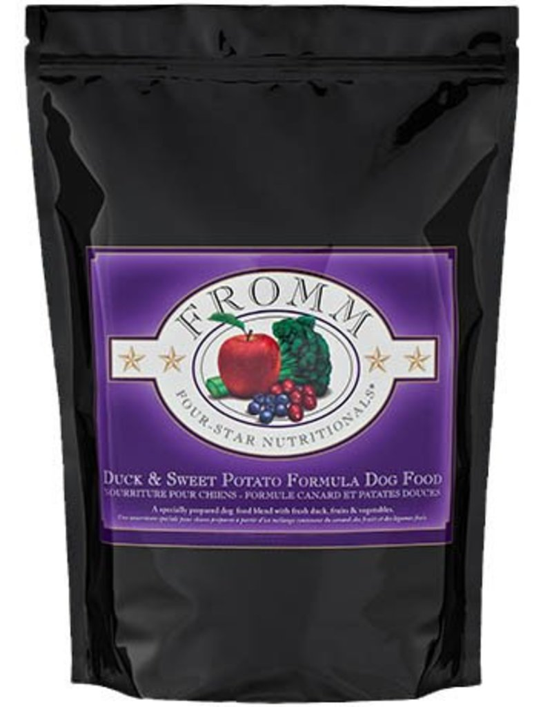 Fromm Four Star Dry Dog Duck & Sweet Potato 30 LB