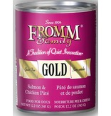 Fromm Family Pet Food Fromm Gold Canned Dog Salmon & Chicken Pate 13 OZ