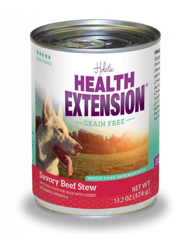 Health Extension Canned Dog Grain Free Beef Stew 13.2 Oz