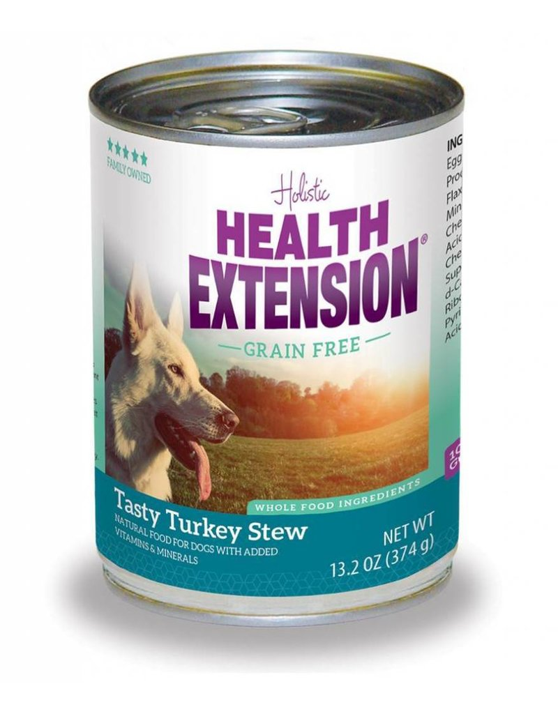 Health Extension Canned Dog Grain Free Turkey Stew 13.2 Oz